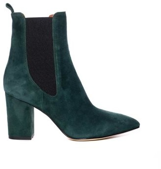 Paris Texas Green Suede Boot