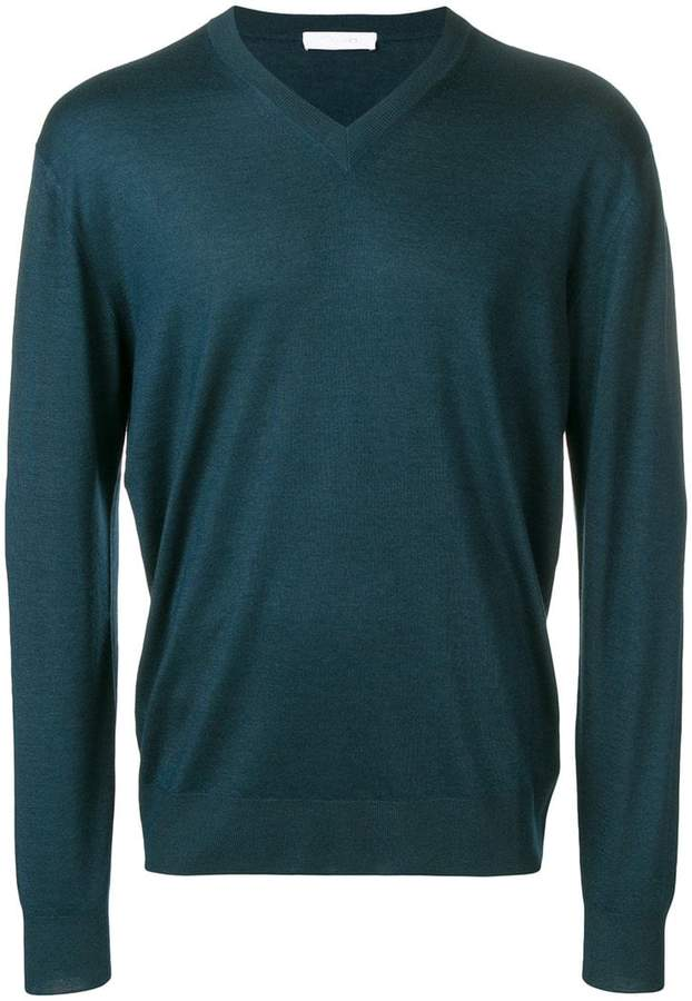 Cruciani v-neck jumper