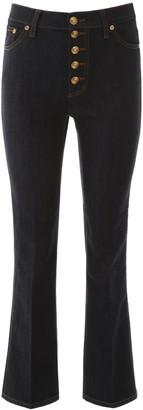 Tory Burch High-Waisted Denim Jeans