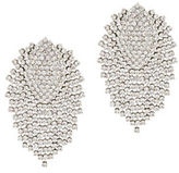 BCBGMAXAZRIA Embellished Brass and Steel Stud Earrings