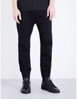 Helmut Lang Mid-rise Neoprene Jogging Bottoms