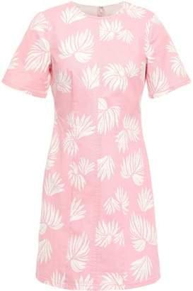 Cinq à Sept Phoenix Madison Printed Stretch-cotton Twill Mini Dress