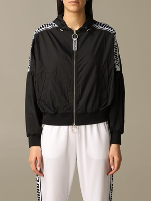 Armani Collezioni Armani Exchange Jacket Armani Exchange Bomber Jacket With Hood And Logoed Bands