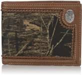 Nocona Bi-fold Camo Deer Concho Wallet - Mossy Oak Roundup