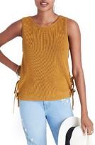 Madewell Women's Side Tie Sweater Tank