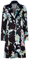 Etro Patterned trench coat