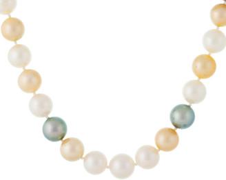 Splendid Pearls 14K 10-12Mm South Sea Pearl Necklace