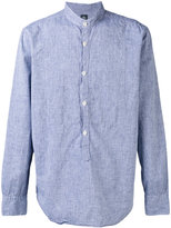 Eleventy Corean shirt - men - Cotton/Linen/Flax - 41
