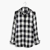 Madewell Slim Ex-Boyfriend Shirt in Buffalo Check
