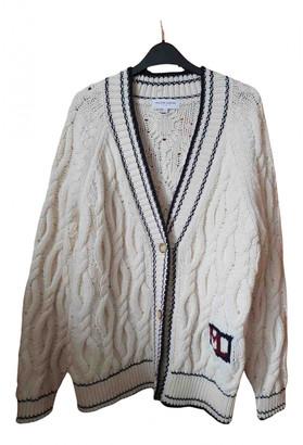 Maison Labiche White Wool Knitwear