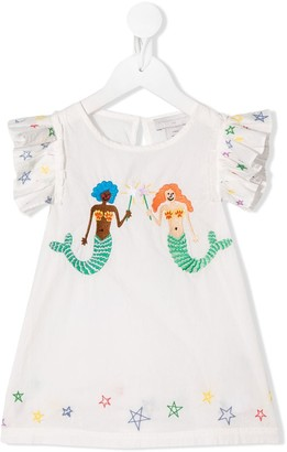 Stella McCartney Mermaids print sleeveless blouse