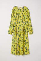 H&M Patterned Dress - Yellow/floral - Women