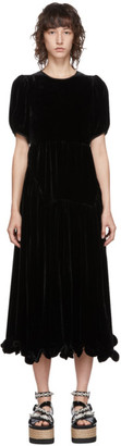 Cecilie Bahnsen Black Myrleen Dress