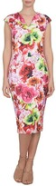 CeCe Scuba Sheath Dress