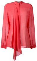 Etro draped blouse - women - Silk - 42