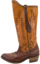 Golden Goose Deluxe Brand Leather Cowboy Boots