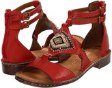 Naturalizer Reconnect (Red Pepper Leather/Brown Snake) - Footwear