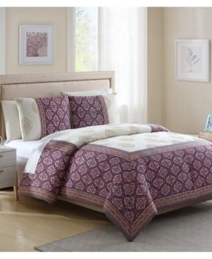 White Birch Myra 3-Pc. King Comforter Set Bedding