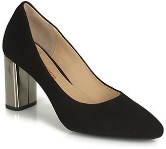 Perlato 11309-CAM-NOIR women's Heels in Black