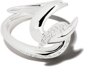 Shaun Leane Hook diamond ring