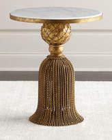 Kay Golden-Tassel Side Table