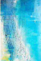 Parvez Taj Aqua Beach Canvas Wall Art