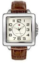 Tommy Hilfiger Women's Three-hand Leather Strap watch #1780830
