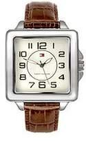 Tommy Hilfiger Women's Three-hand Leather Strap watch