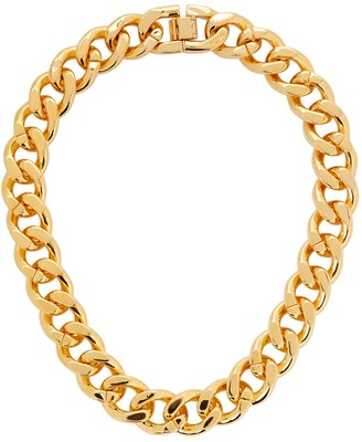 Fallon Armure Gold-plated Chain Necklace