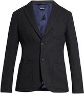 Giorgio Armani Tokyo cashmere and silk-blend blazer