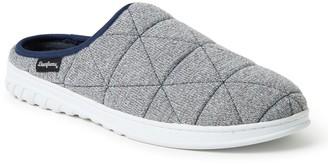 Dearfoams Men's FreshFeel Quilted Clog Slippers