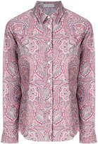 Etro printed buttoned shirt
