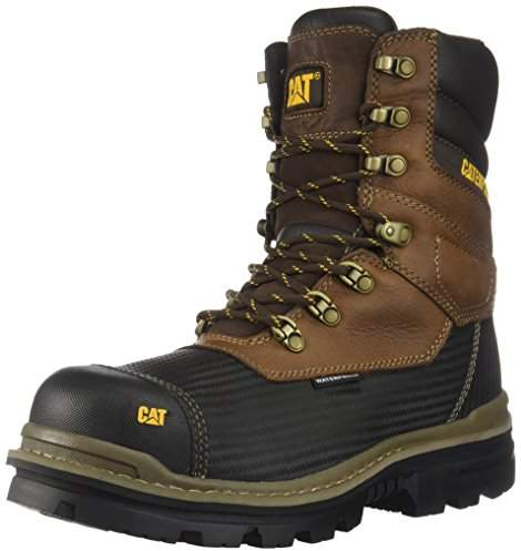 bed6a70e359 Caterpillar Footwear Men's Thermostatic Ice+ WaterProof TX CT CSA  Construction Boot
