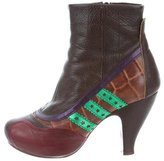 Chie Mihara Leather Ankle Boots