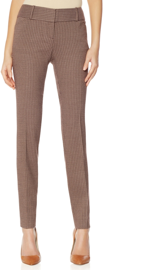The Limited Drew Houndstooth Skinny Pants