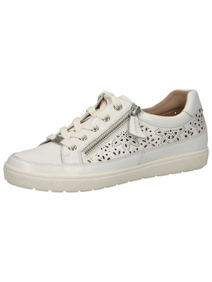 Caprice White Trainers For Women   Shop