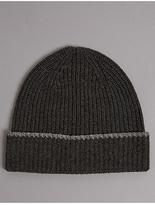 Autograph Pure Cashmere Beanie Hat
