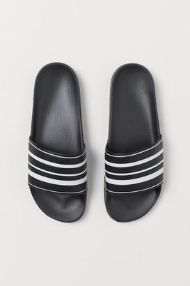 H&M Pool shoes - Black