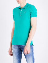 Diesel T-heal stretch-cotton polo shirt