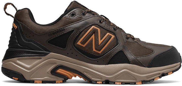 New Balance Brown Soft Leather Men's