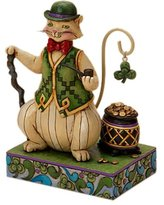 575 Denim Enesco Jim Shore Heartwood Creek from Enesco Irish Cat Figurine