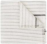 Brunello Cucinelli striped scarf - women - Silk/Polyamide/Cashmere - One Size