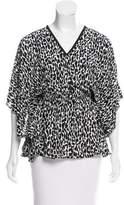Michael Kors Leopard Print Sleeveless Top