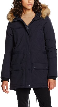 Schott NYC Women's Lucia Hooded Snorkel Down Coat