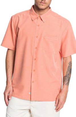 Quiksilver Waterman Collection Centinela Regular Fit Camp Shirt