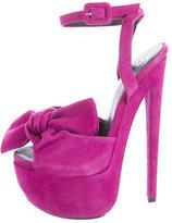 Giuseppe Zanotti Platform Bow Sandals