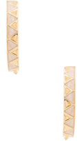 House Of Harlow Nile Delta Hoop Earrings
