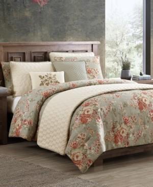 Hallmart Collectibles Nicas 8-Pc. Queen Comforter and Quilt Set Bedding