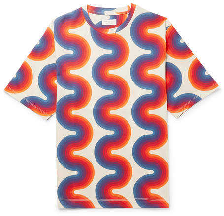 Dries Van Noten Oversized Printed Cotton-Jersey T-Shirt