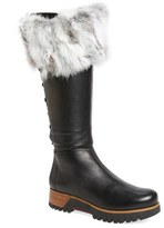 Rudsak Women's Rudsack Baddow Genuine Rabbit Fur Trim Winter Boot